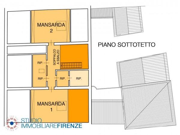 Ufficio in vendita a Bagno a Ripoli, 330 mq - Foto 2