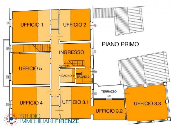 Ufficio in vendita a Bagno a Ripoli, 330 mq - Foto 3