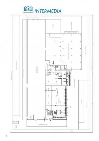 Ufficio in vendita a Rozzano, Con giardino, 2400 mq - Foto 2