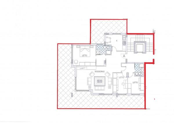 Appartamento in vendita a Cagliari, Con giardino, 150 mq - Foto 2