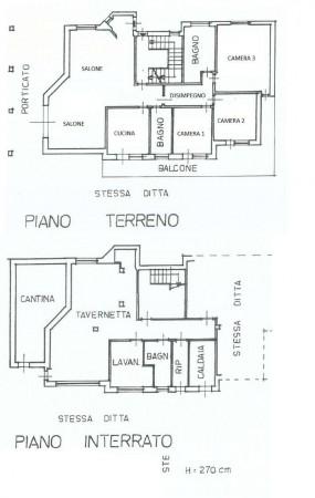 Villa in vendita a Caselette, Villaggio, Con giardino, 415 mq - Foto 3
