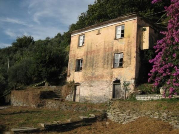 Rustico/Casale in vendita a Cogorno, Periferica, Con giardino, 400 mq
