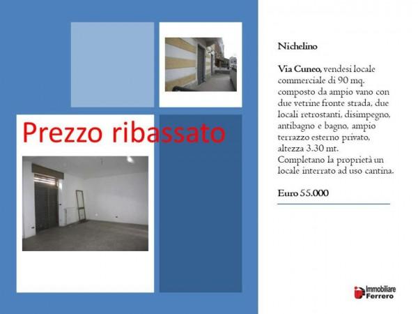Negozio in vendita a Nichelino, Semicentrale, 80 mq - Foto 2
