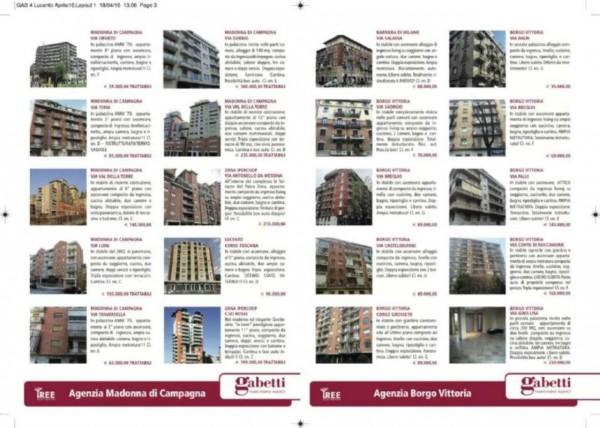 Appartamento in vendita a Torino, Lucento, Con giardino, 85 mq - Foto 3