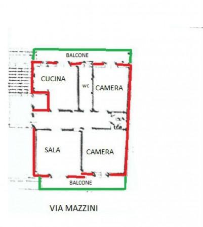 Appartamento in vendita a Alpignano, Centro, 95 mq - Foto 2