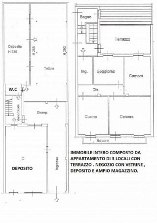 Casa indipendente in vendita a Desio, Oratorio San Giovanni Battista, Con giardino, 300 mq - Foto 3