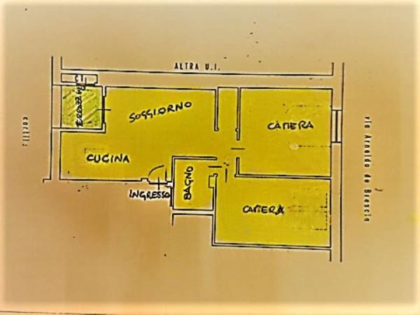 Appartamento in vendita a Torino, Con giardino, 75 mq - Foto 10