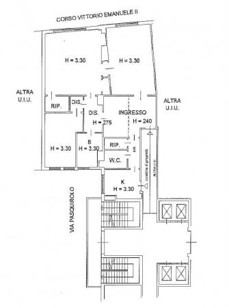 Appartamento in vendita a Milano, Duomo, 160 mq - Foto 2