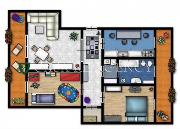 Appartamento in vendita a Induno Olona, Con giardino, 105 mq - Foto 2