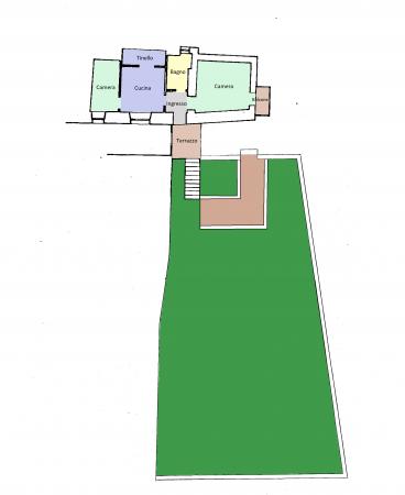 Casa indipendente in vendita a Foligno, Sant'eraclio, Con giardino, 90 mq - Foto 6