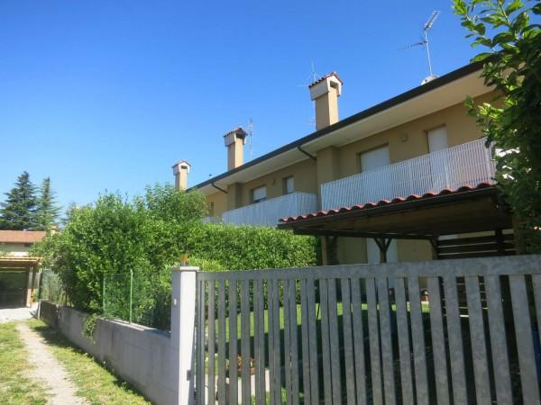 Villetta a schiera in vendita a Majano, Con giardino, 173 mq