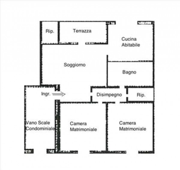 Appartamento in vendita a Siena, 95 mq - Foto 2