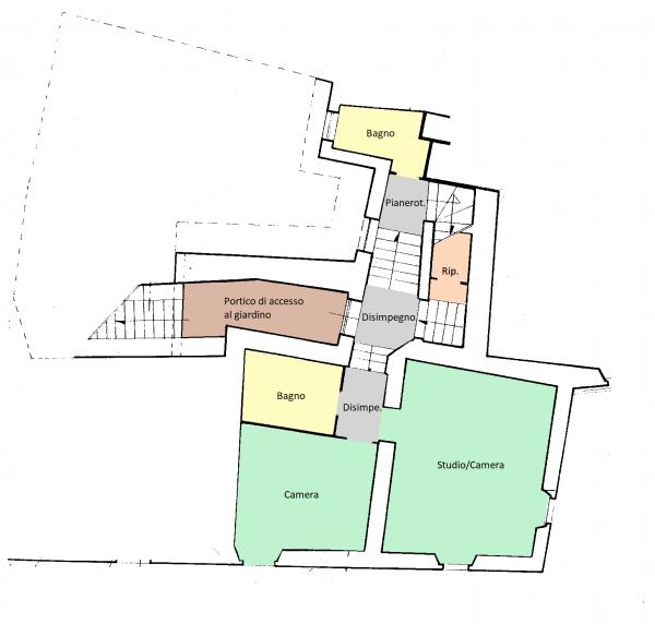 Rustico/Casale in vendita a Trevi, Centrale, Con giardino, 250 mq - Foto 11
