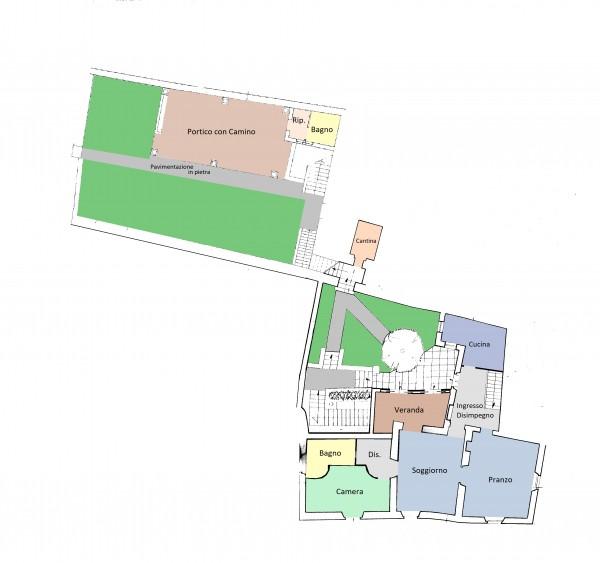 Rustico/Casale in vendita a Trevi, Centrale, Con giardino, 250 mq - Foto 10