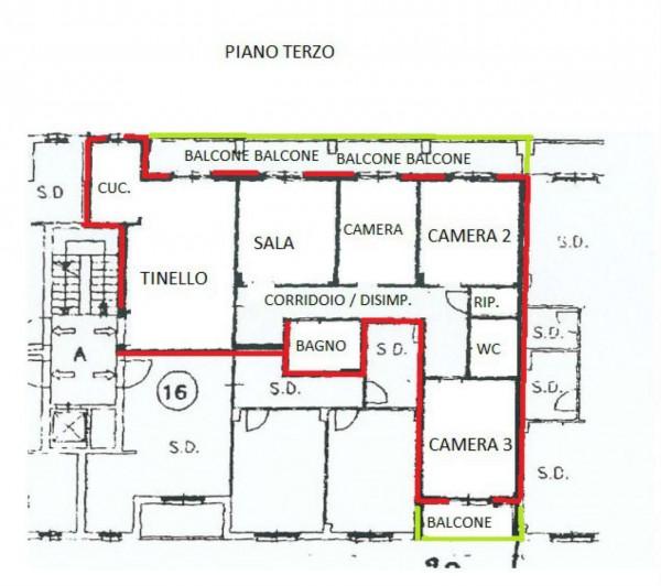 Appartamento in vendita a Alpignano, Centro, Con giardino, 131 mq - Foto 4