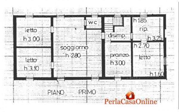 Casa indipendente in vendita a Forlì, Pieve Acquedotto, Con giardino, 250 mq - Foto 4