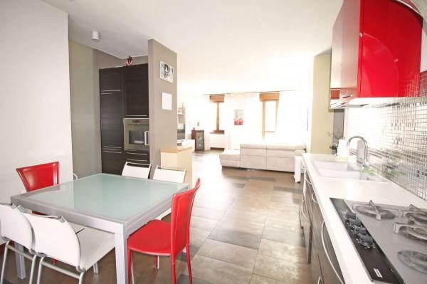 Appartamento in vendita a Caponago, Centro, Con giardino, 192 mq - Foto 19