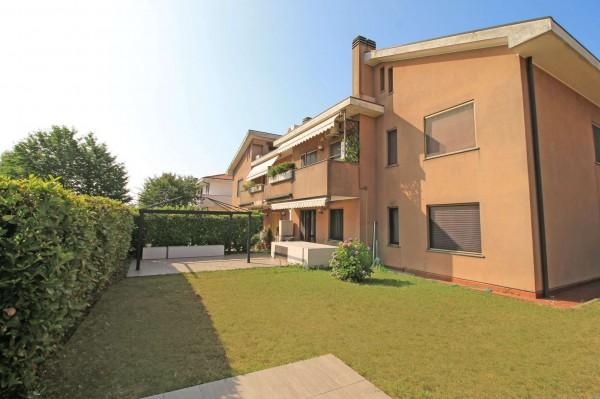 Appartamento in vendita a Caponago, Centro, Con giardino, 192 mq - Foto 23