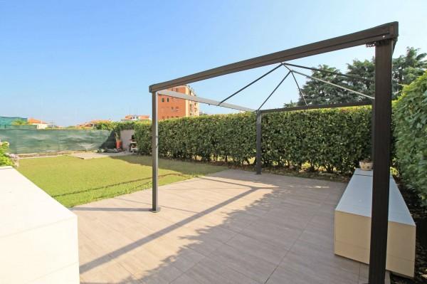 Appartamento in vendita a Caponago, Centro, Con giardino, 192 mq - Foto 20