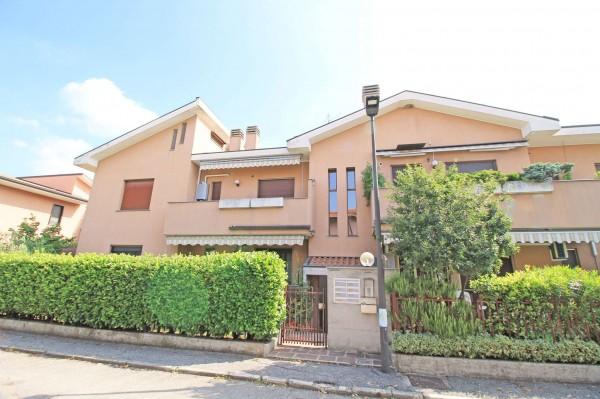 Appartamento in vendita a Caponago, Centro, Con giardino, 192 mq - Foto 2