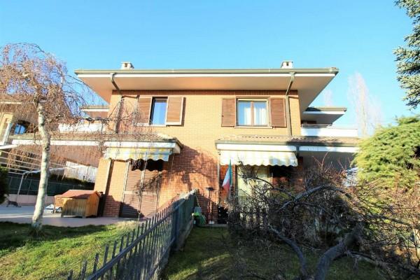 Villa in vendita a Alpignano, Maiolo, Con giardino, 265 mq