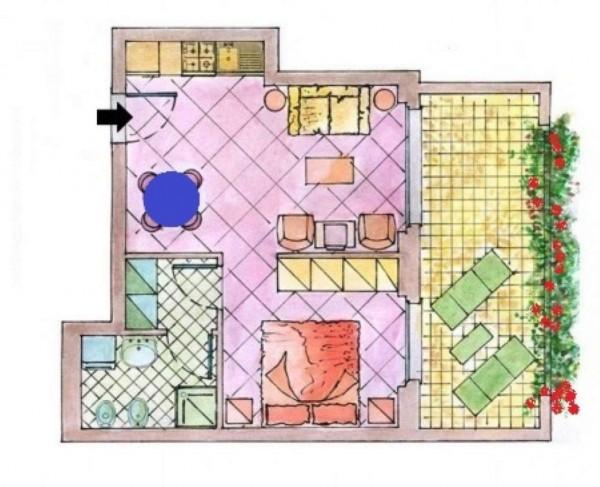 Appartamento in affitto a Busto Arsizio, Ospedale,autostrada, Arredato, 60 mq - Foto 2