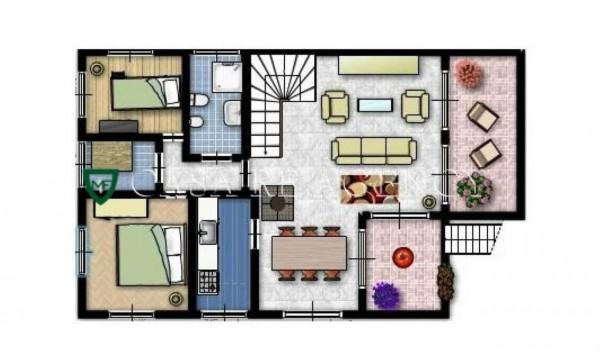 Villa in vendita a Bedero Valcuvia, Con giardino, 350 mq - Foto 3