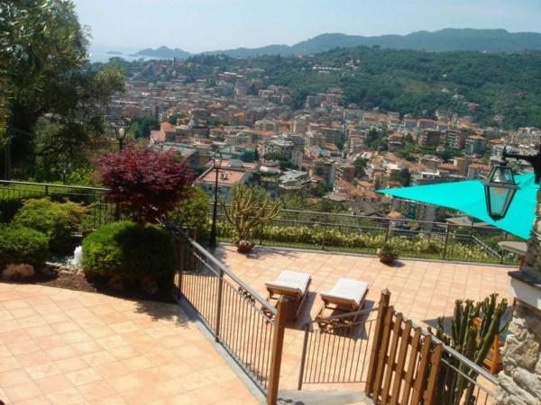 Villa in vendita a Rapallo, Castellino, Con giardino, 500 mq - Foto 11
