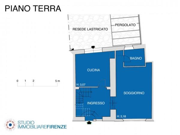 Rustico/Casale in vendita a Firenze, Con giardino, 159 mq - Foto 5
