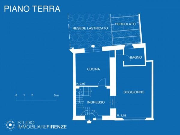 Rustico/Casale in vendita a Firenze, Con giardino, 159 mq - Foto 43