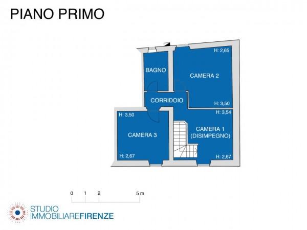 Rustico/Casale in vendita a Firenze, Con giardino, 159 mq - Foto 4