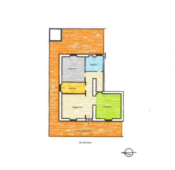 Appartamento in vendita a Guidonia Montecelio, Con giardino, 114 mq - Foto 2