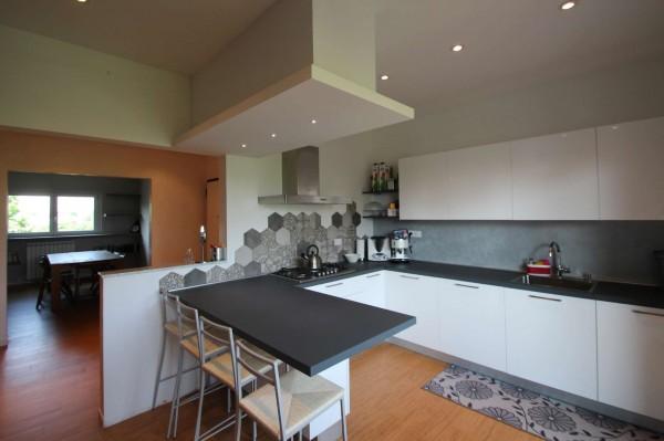 Appartamento in vendita a Torino, Rebaudengo, Arredato, con giardino, 130 mq - Foto 14