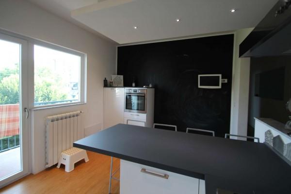 Appartamento in vendita a Torino, Rebaudengo, Arredato, con giardino, 130 mq - Foto 11