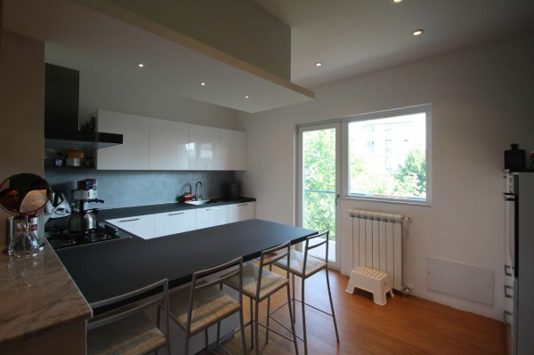 Appartamento in vendita a Torino, Rebaudengo, Arredato, con giardino, 130 mq - Foto 13