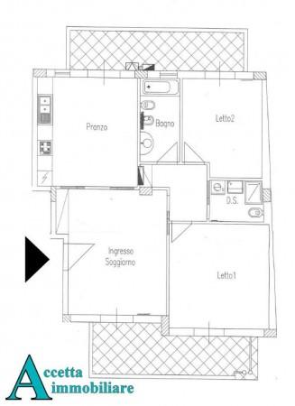 Appartamento in vendita a San Giorgio Ionico, Residenziale, 92 mq - Foto 2