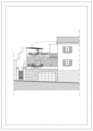 Casa indipendente in vendita a Chiavari, Sant'andrea Di Rovereto, Con giardino, 140 mq - Foto 2