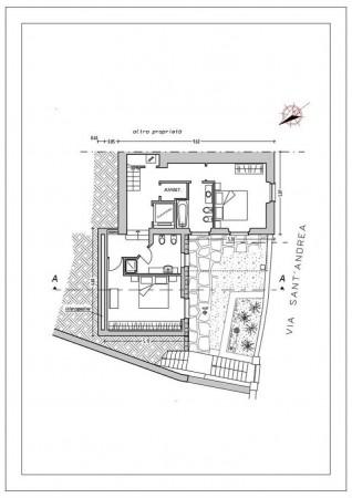 Casa indipendente in vendita a Chiavari, Sant'andrea Di Rovereto, Con giardino, 140 mq - Foto 4