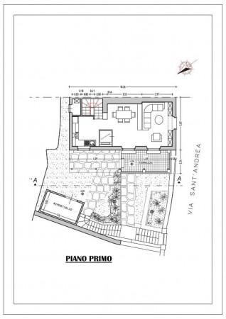 Casa indipendente in vendita a Chiavari, Sant'andrea Di Rovereto, Con giardino, 140 mq - Foto 3
