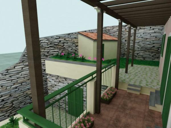 Casa indipendente in vendita a Chiavari, Sant'andrea Di Rovereto, Con giardino, 140 mq - Foto 9