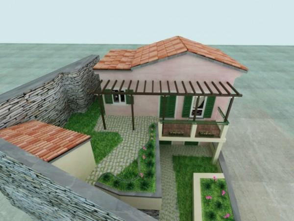 Casa indipendente in vendita a Chiavari, Sant'andrea Di Rovereto, Con giardino, 140 mq - Foto 10