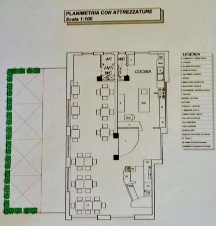 Locale Commerciale  in vendita a Venaria Reale, Residenziale, Arredato, 100 mq - Foto 3