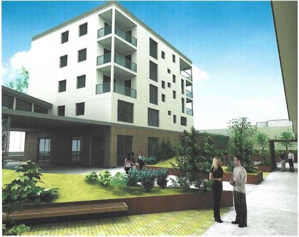 Appartamento in vendita a Torino, Lingotto, Con giardino, 62 mq