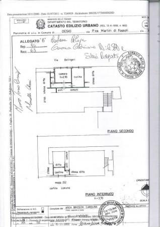 Appartamento in vendita a Desio, Centro - Villa Tittoni, 60 mq - Foto 2