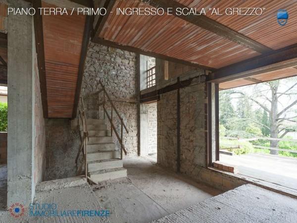 Villa in vendita a Firenze, Con giardino, 550 mq - Foto 39