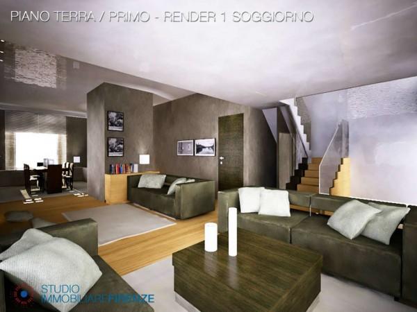 Villa in vendita a Firenze, Con giardino, 550 mq - Foto 38