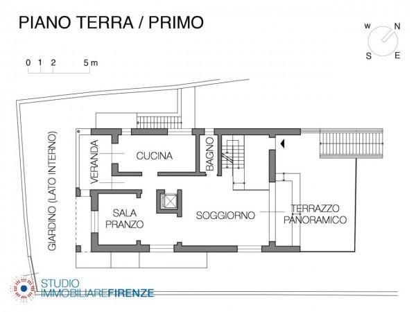Villa in vendita a Firenze, Con giardino, 550 mq - Foto 5
