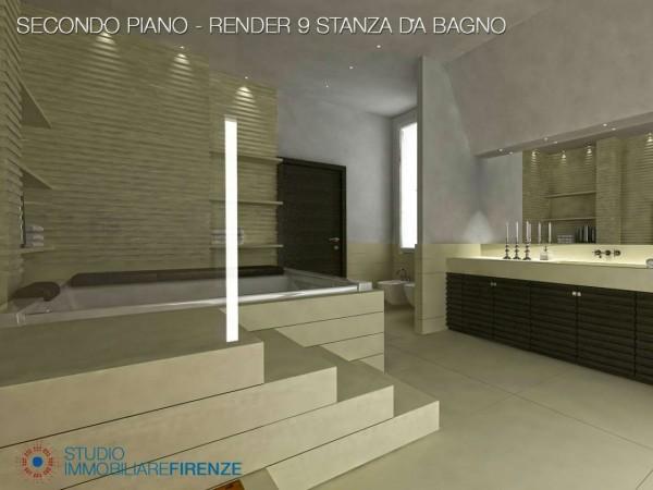 Villa in vendita a Firenze, Con giardino, 550 mq - Foto 23