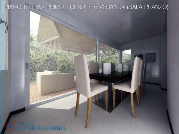 Villa in vendita a Firenze, Con giardino, 550 mq - Foto 28