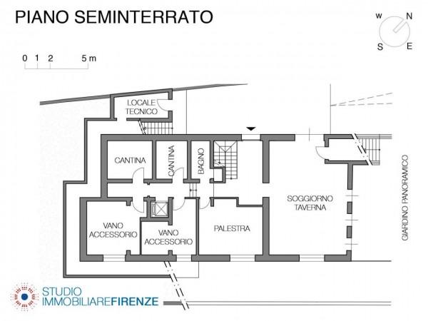Villa in vendita a Firenze, Con giardino, 550 mq - Foto 6
